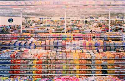 Andreas Gursky 99 Cent 1999 Cibachrome Print Edition Of 6 81 1 2 X 132 5 8 In The Museum Contemporary Art Los Angeles Partial Gift Michael Ovitz