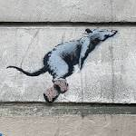 Banksy Rat Paris