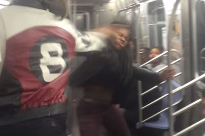 Subway attack